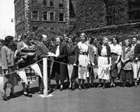 119th Street ceremony, 1952