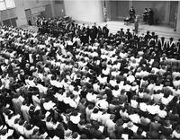 Barnard College Convocation, circa 1950s