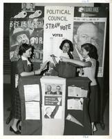 Political Council Organized Straw Poll, 1950s