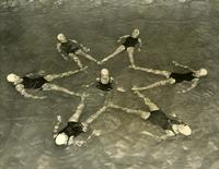 Synchronized swimming pedestal, 1951
