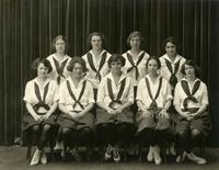 Swim team portrait, circa 1922