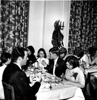 Students in Hewitt dining room, circa 1950s