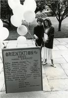 New Student Orientation, August 29, 1985