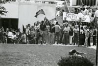 Protest to divest from Apartheid South Africa, October 1978