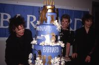 "Laurie Anderson, Joan Rivers, and Suzanne Vega at ""Barnard Performs"" benefit, Carnegie Hall, 1989"