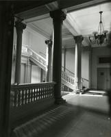 Renovated lobby of Milbank Hall, circa 1952