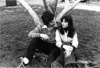 A couple on Lehman Lawn, circa 1970s